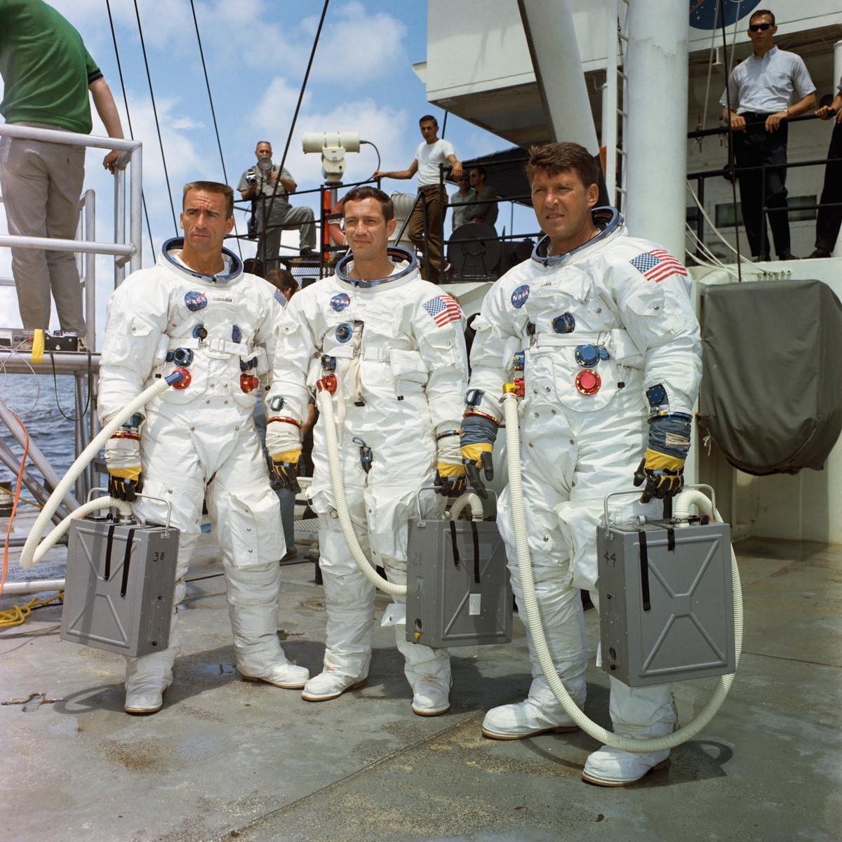 """Экипаж"" ""Аполлона 7"""