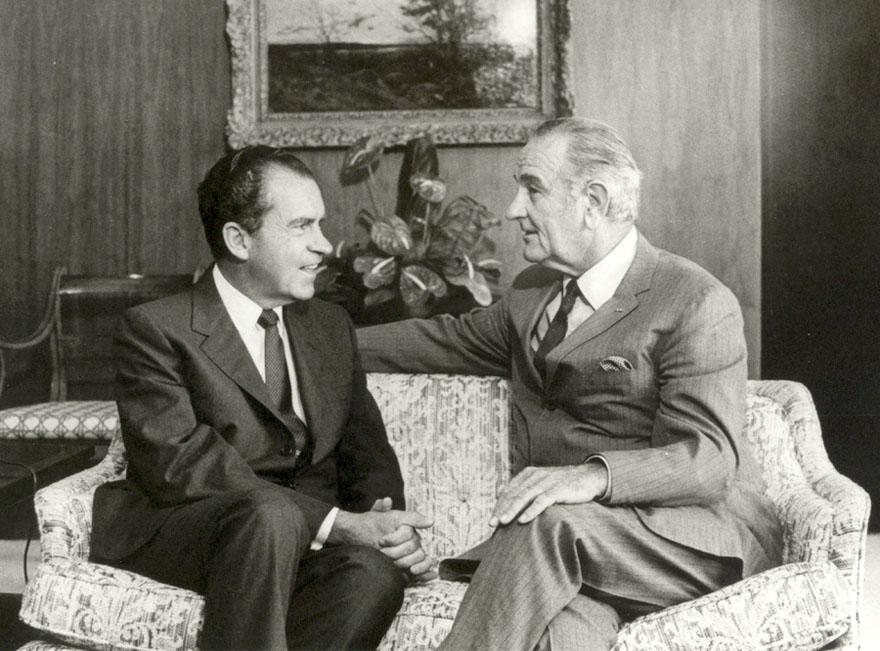 Никсон и Джонсон