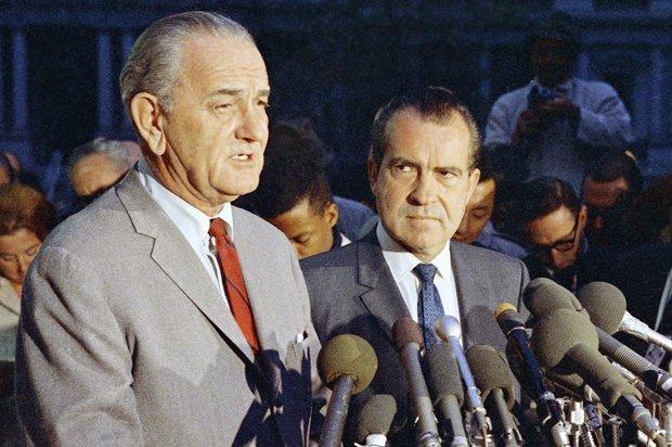 Джонсон и Никсон