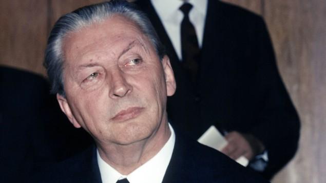 Курт Кизингер, нацист, канцлер ФРГ