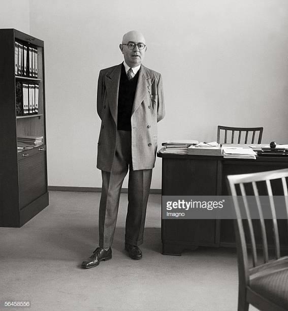 Теодор Адорно перед смертью, наступившей 06 августа 1969